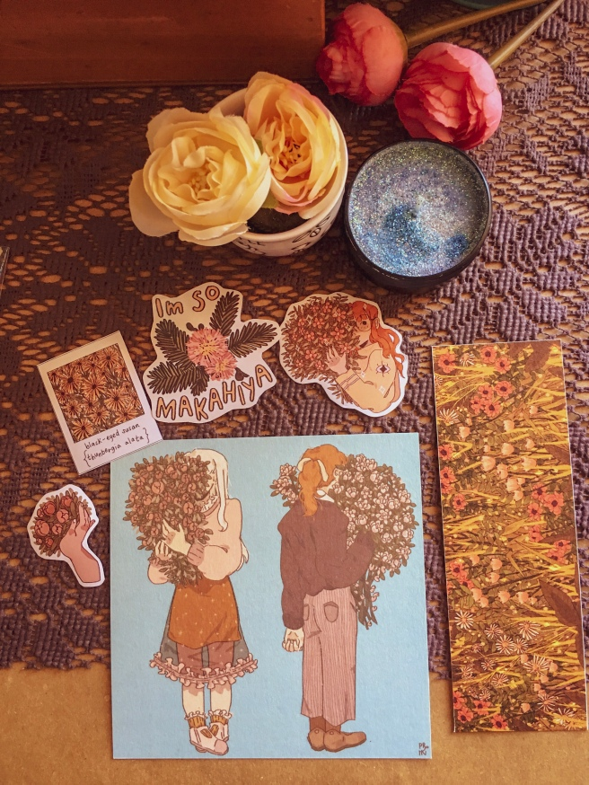 Art prints and stickers by Ivy Berces Prinsomnia