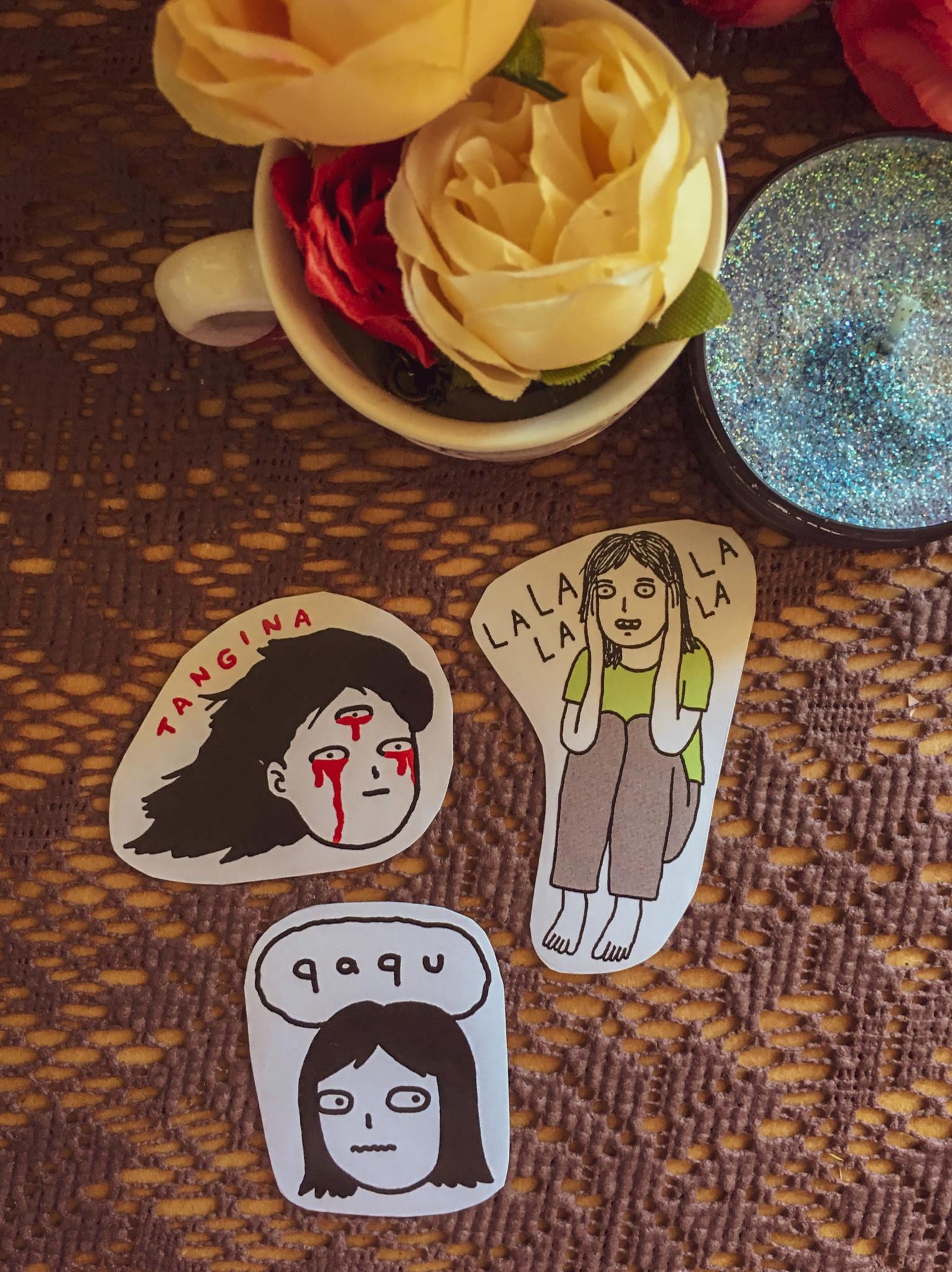 Hulyen UGH stickers