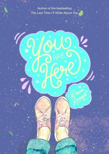 You Are Here by Dawn Lanuza book cover