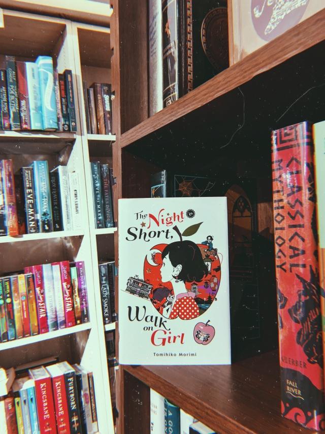 The Night Is Short Walk on Girl Bunko Size Japanese Book Tomihiko Morimi NOVEL