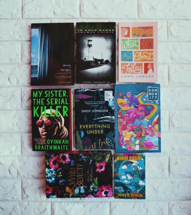 October Book Pile